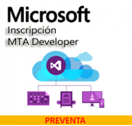 Inscripción MTA Developer Visual Studio 2015